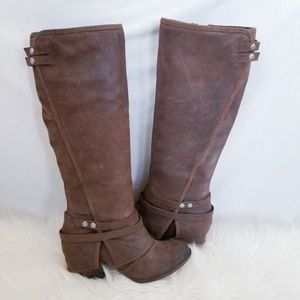 Fergie Lattitude Brown Boots
